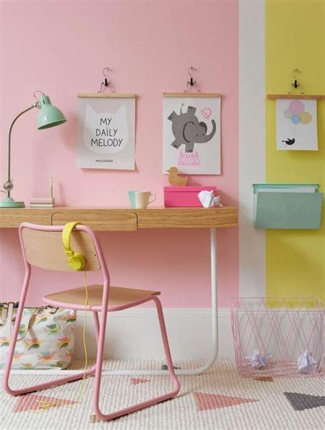 peinture pour chambre d enfant nos astuces en photos pour peindre une pi 232 ce en deux