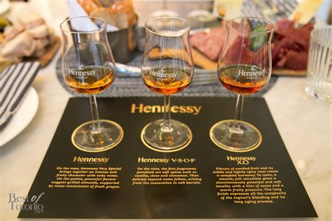 a cognac tasting experience with hennessy best of