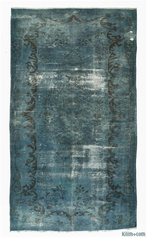 Dyed Rugs by K0005299 Dyed Turkish Vintage Rug Overdyed Vintage