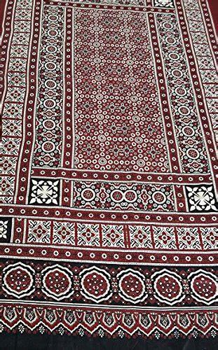 sindhi ajrak menwomen ajrak traditional shawl scarf chadar  cotton handmade circular