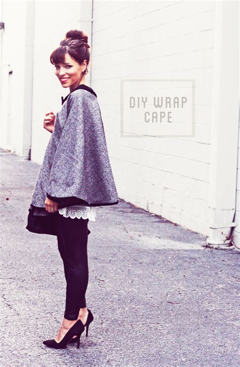 design a cape diy wrap around cape tutorial in honor of design