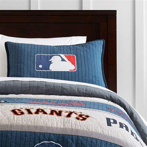 Baseball Bedding by Mlb Quilt Sham Pbteen