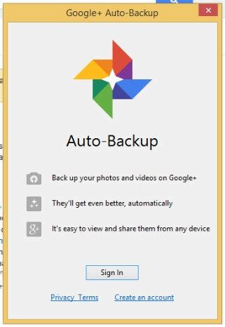 Google Auto Backup by How To Auto Backup Photos And Media To Google In Windows