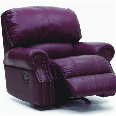purple recliner chairs purple handbags purple leather recliner