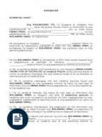 Demand Letter Utang Kasunduan Ng Pag