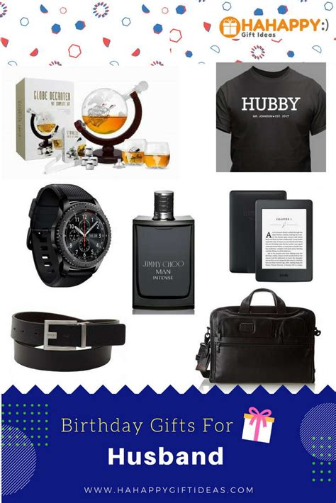 unique birthday gifts for husband that he will love hahappy