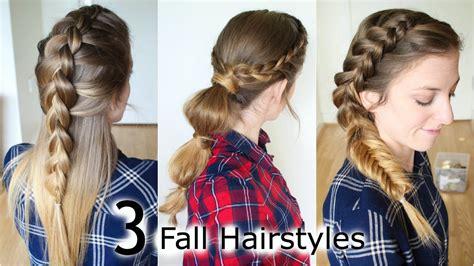 3 fall braided fall hairstyles school hairstyles