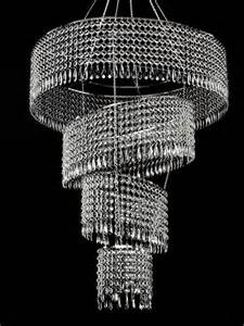 large acrylic chandelier large 4 tier acrylic tilted chandelier clear