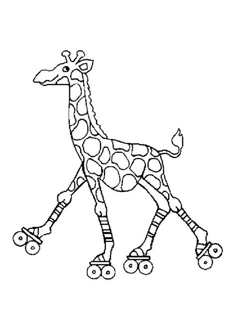 17 Meilleures Id 233 Es 224 Propos De Coloriage Girafe Sur Imprimez Les Coloriages D Animaux Sauvages Africains L