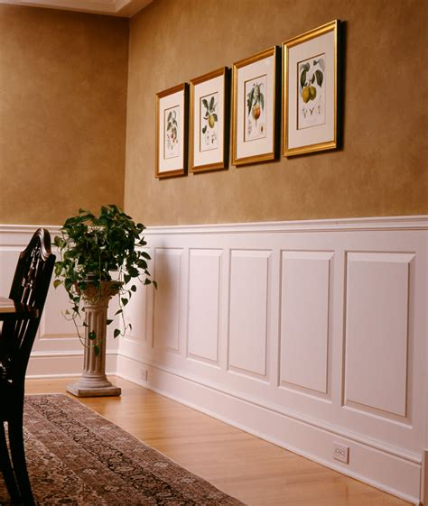 Wainscotting Panels by Raised And Recessed Panel Wainscoting Wainscot Solutions