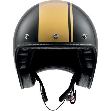 gold motorcycle agv rp60 cafe racer 3 4 black gold motorcycle helmet