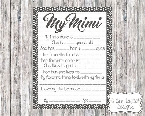 free download secret santa questionnaire just brennon printable my mimi survey all about my mimi mimi survey mom