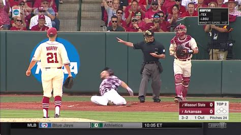 is missouri a swing state missouri state batter appears to suffer awful leg injury