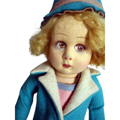 what is a lenci doll lenci doll with coat and hat from pamelasplaythings