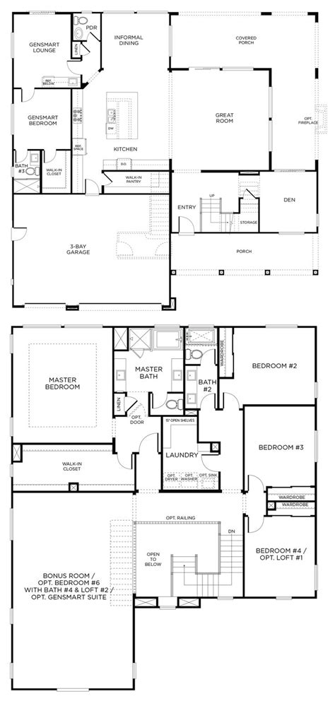floor plan interest best floor plans images on pinterest plan large townhouse