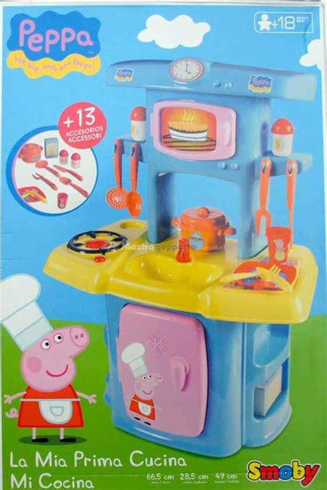 giochi di peppa pig cucina peppa pig la cucina smoby prezzo costo e dove comprare