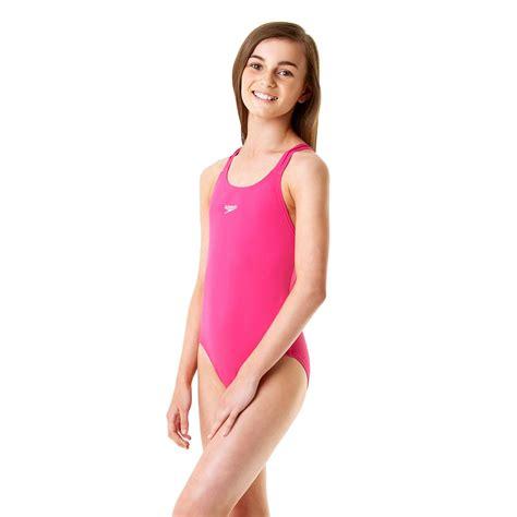 speedo girl swimsuit speedo endurance plus medalist girls swimsuit ss14