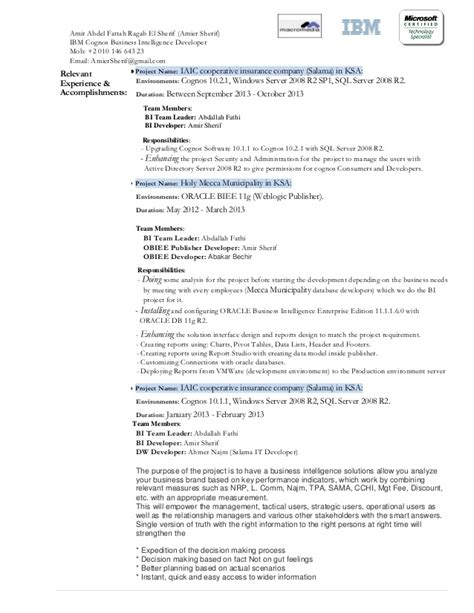Cognos Sle Resume by Cognos Report Writer Resume 28 Images 44 Luxury Image Of Cognos Sle Resume Resume Sle