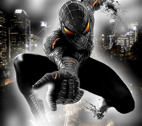 Black Spiderman | free download windows 8 themes black spiderman 3 theme