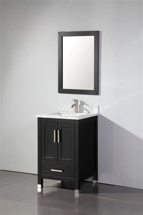 real wood bathroom vanities mtd 24 inch solid wood bathroom vanity solid oak wood cabinetrymirror