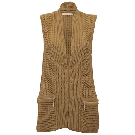 womens knitted gilet gilet threadbare womens knitted bodywarmer open
