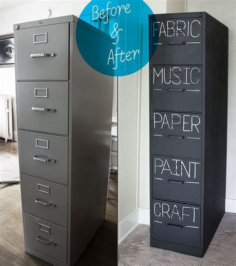 Chalk Paint On Metal Filing Cabinet 25 Room Decor Ideas A Craft In Your Daya Craft In Your Day