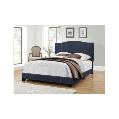 back of bed home decorators collection keys grey king bed 9808510270