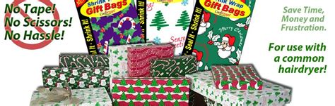 shrink wrap gifts shrink wrap gift bags