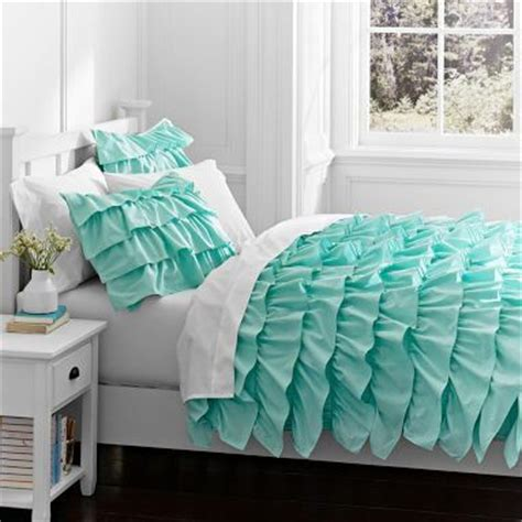 aqua blue comforter aqua blue ruffles comforter riley projects pinterest