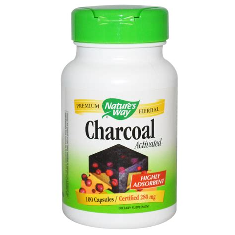 Pressery Detox Activated Charcoal Review by Nature S Way Charcoal Activated 280 Mg 100 Capsules