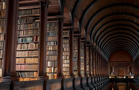 Google Dublin Office inside trinity college library
