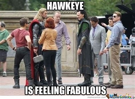 fab hawkeye is fab by andy1221 meme center
