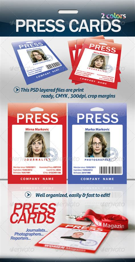 the press interactive card templates press cards pass by sholacsholinski graphicriver
