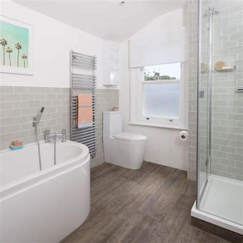 Modern Bathrooms Uk Be Inspired By This Modern Bathroom Makeover Ideal Home