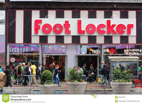 athletic shoe stores nyc foot locker shoe store in italy editorial image