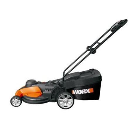 worx 17 in walk corded electric lawn mower wg708