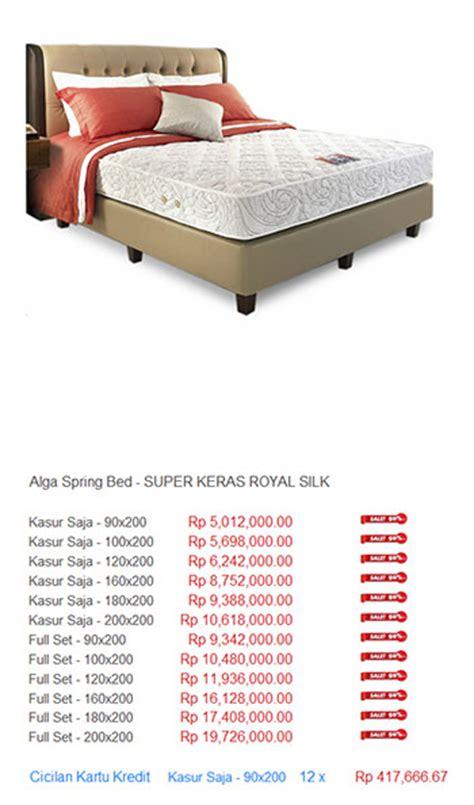Kasur Alga Bed alga bed harga bed termurah di indonesia