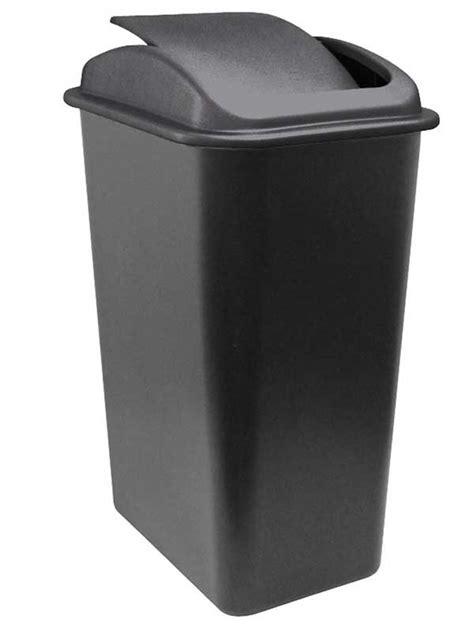 slim swing bin best trash cans 2017 small slim or big for home and