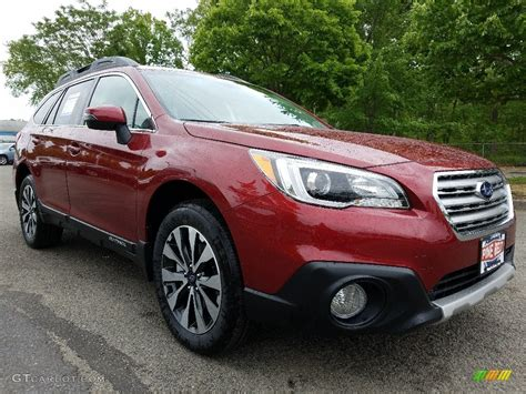 2017 subaru outback 2 5i limited red 2017 venetian red pearl subaru outback 2 5i limited