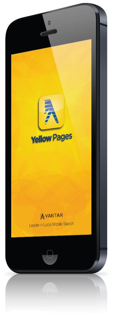 Find On Yellow Pages Yellow Pages By Avantar