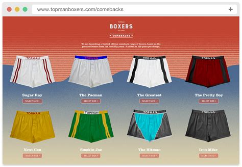 Can I Use A Topman Gift Card In Topshop - topman boxers on behance