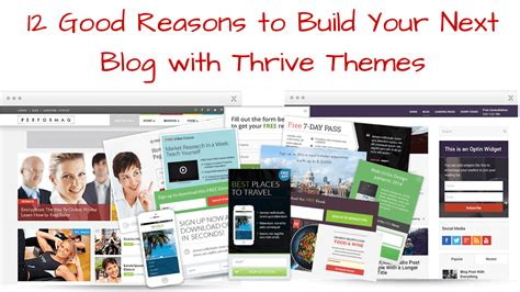 Build Your Next Blog With Thrive Themes 12 Good Reasons Why Thrive Themes Templates