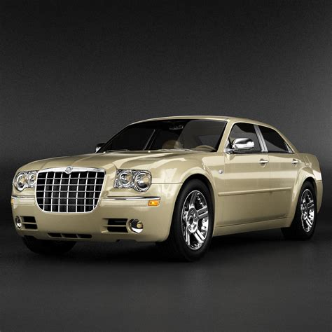 chrysler car models chrysler 300 3d model max obj 3ds fbx cgtrader