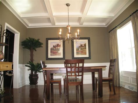 Wall Sconces For Family Room by Model Home Willow Bend Farm Traditional Dining Room
