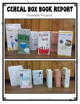 tales of a fourth grade nothing book report tales of a fourth grade nothing project cereal box book