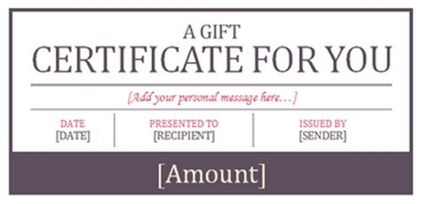 Where To Buy Hotel Gift Cards - hotel gift certificate template gift templates