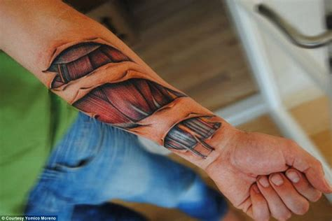 hyper realistic tattoo or machine the most hyper realistic tattoos