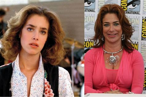 elisabeth shue now and then claudia wells as jennifer parker back to the future