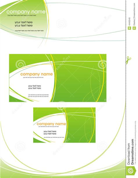 Business Letterhead Vector Free vector business stationery royalty free stock photo