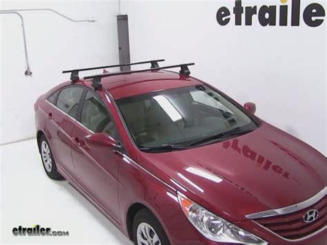 thule roof rack for 2013 hyundai sonata etrailer
